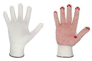 Handschuhe nahtlos NYLON/BAUMWOLLE mit Vinyl-Noppen