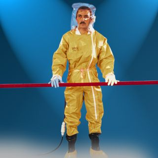 Robust ventilated protective suits