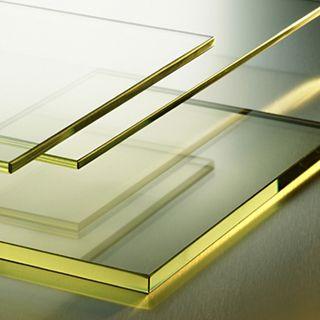 Radiation shielding glass