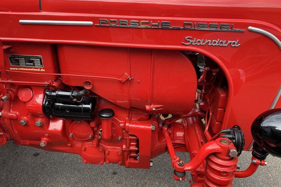 1958 Porsche Standard 208