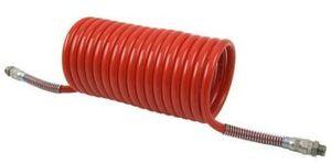Tuyau spirale avec raccords +protection à la flexion