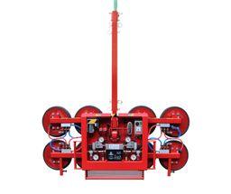 """Palonnier à ventouses DKF 12V – Système de vacuum à deux circuits indépendants """"P"""" = 700kg"""