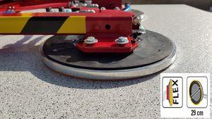 kit de conversion pour palonnier à ventouses avec des ventouses d=250mm pour surfaces structurées