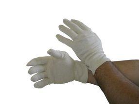 Handschuhe aus Baumwolltricot