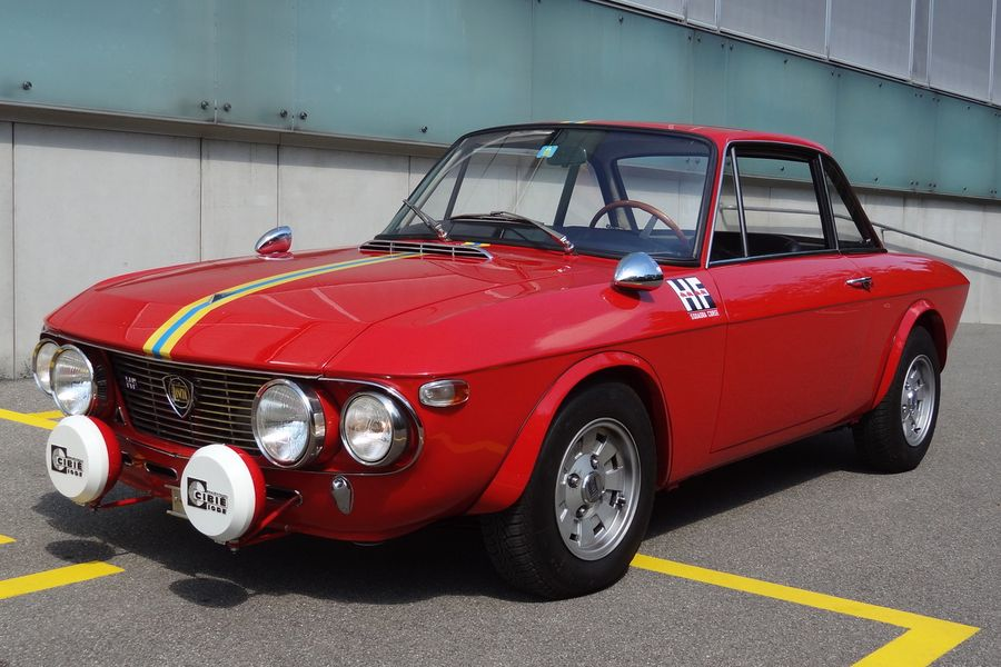 "1971 Lancia Fulvia Coupé Rallye 1.6 HF ""Fanalone"""