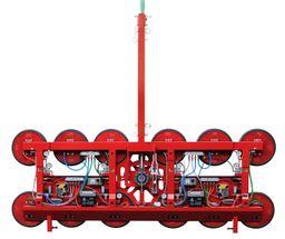Palonnier à ventouses à quatre circuits indépendants -  « P » = 2'000kg