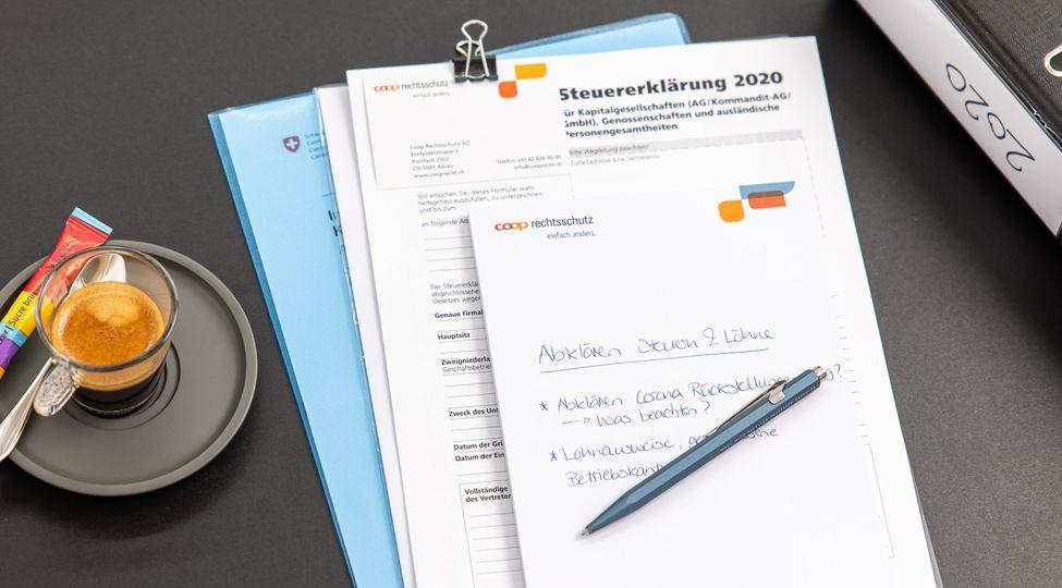 COVID-19: Steuerliche Massnahmen bei KMU's