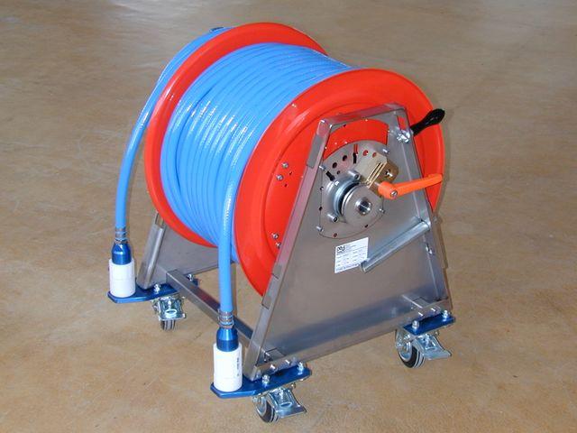 Air trolley for breathing air