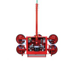 """Palonnier à ventouses DKF 12V - Système de vacuum à deux circuits indépendants - """"P"""" = 500kg"""