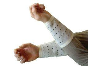 Protection en cuir pour l'artère