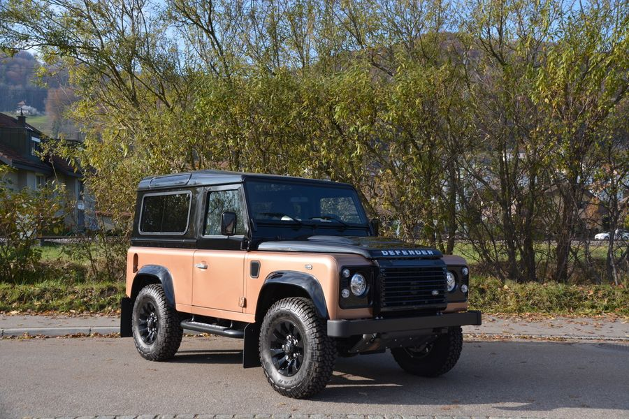 2016 Land-Rover Defender 90 «Autobiography»