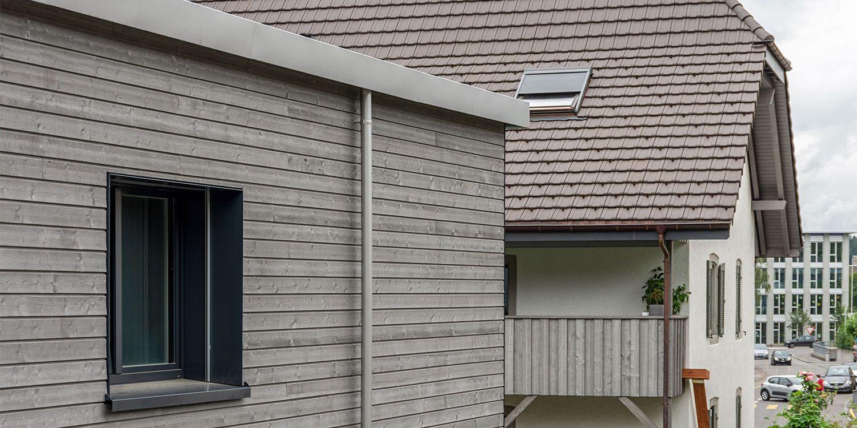 Umbau geschütztes Wohnhaus