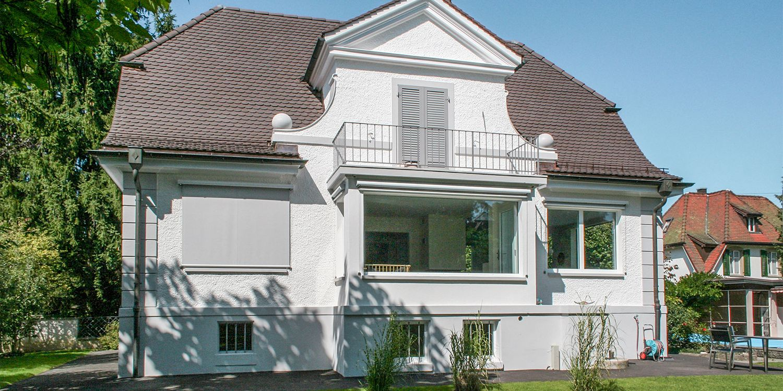 Umbau altes Herrenhaus