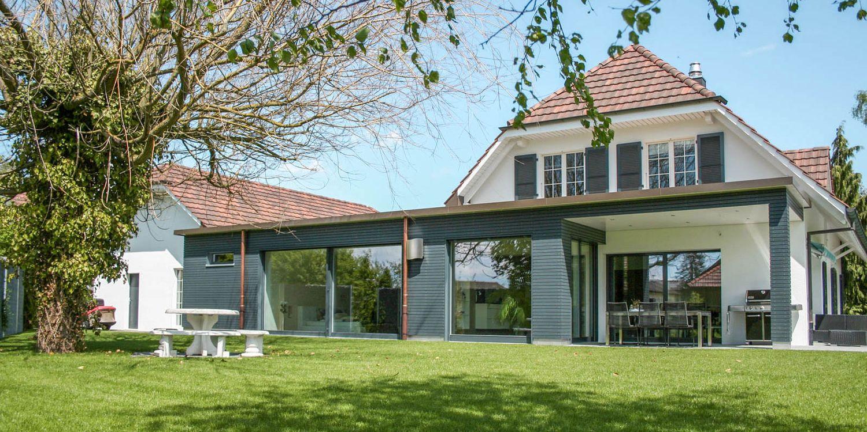Um- und Anbau Einfamilienhaus