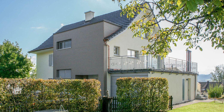 Um- & Anbau Einfamilienhaus