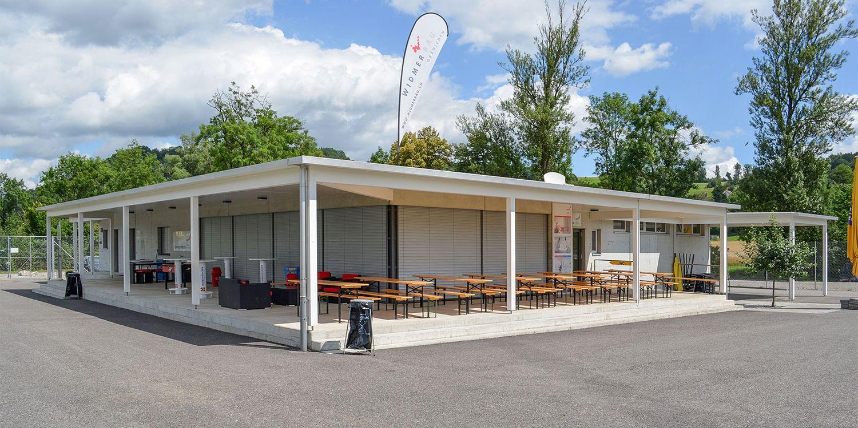 Neubau Sportplatz